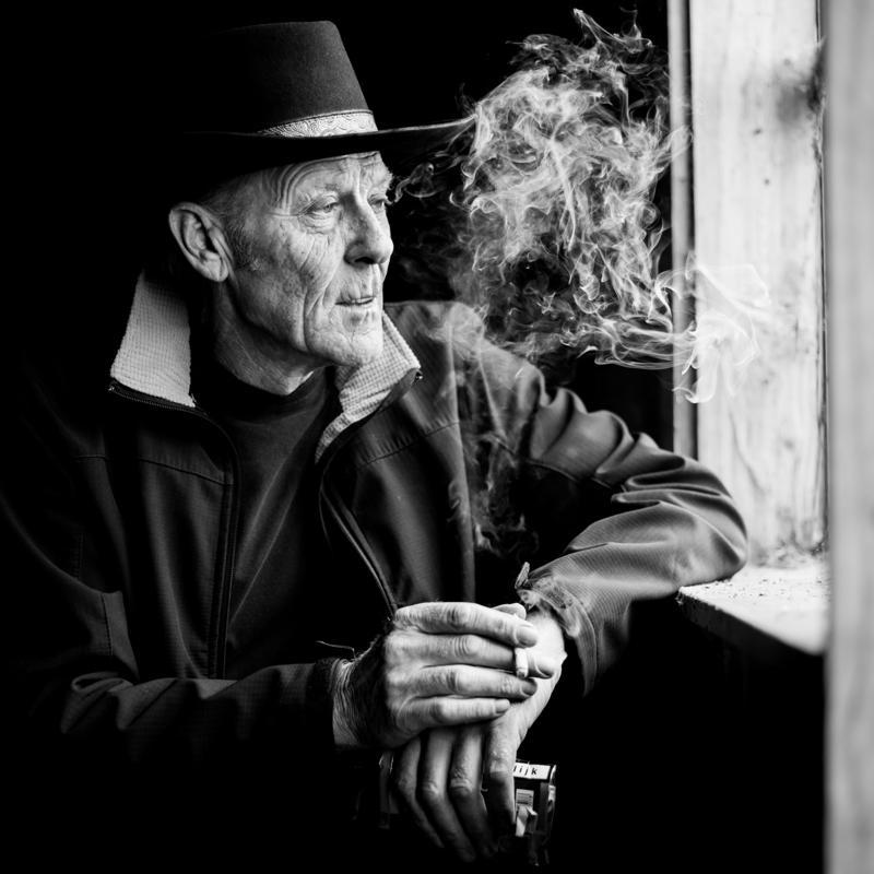 Informeel prive portret Dutch Cowboy door fotograaf Arnick